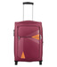 Safari Maroon Polyester 2 Wheel Trolley
