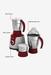 Philips HL7710/00 600W 3 Jar Mixer Grinder (Red)