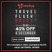 Get 40% cashback on Travel Deal