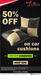 M2ALL:- Get 50% Off On Car Cushions
