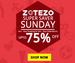 Zotezo Super Saver Sunday: Upto 75% Off