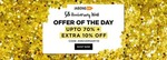 Jabong 5th Anniversary Sale - Upto 70% + Extra 10% Off + 30% Cashback on OYO