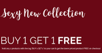 Buy 1 get 1 free on Lingeries + Rs 500 off on first two purchases