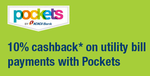 ICICI Pockets - 10% cashback for every utility bill paid using Pockets by ICICI Bank