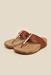 Inc.5 Brown Flat Thongs