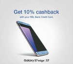 10% Additional Cashback on Samsung Galaxy S7 & S7 Edge with RBL Bank Credit Card