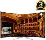 Vu 139 cm (55) 4K (Ultra HD) Smart Curved LED TV TL55C1CUS