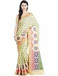 Chandrakala Women's Banarasi Cotton Silk Saree  STARTING FOR RS,308 MRP 1999