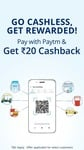 Pay with Paytm and get Rs.20 Cashback