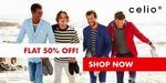 Flat 50% off on Celio Casual Shirt
