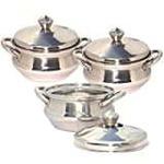 Classic Essentials Enamle Cookware Set 9 Cook n Serve Casseroles