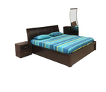 Nilkamal Brown Emirates Bedroom Set
