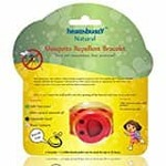 Healthbuddy natural mosquito repellent bracelet (red and green combo)