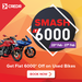 Get up to Rs. 6000 Off on Bikes @Credr