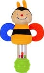 K's Kids Stick Rattle - Clever Bee Rattle (Multicolor)