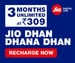 Reliance JIO launched New First Recharge Plans with long validity