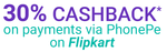 30% cashback on payment via PhonePe
