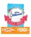 Milkmaid Ice Cream Kit -Contains Milkmaid Tin, Go Cream, Plastic Container & Recipe Booklet