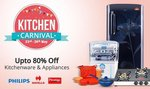 Paytm – Kitchen Carnival on from 23rd to 24th May Upto 80% Cashback on Kitchenware and Appliances low price
