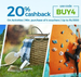 Flat 20% CASHBACK On Activities at Nearbuy