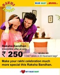 Bluedart Rakhi Express can win 5 dell tablet or 25 bags