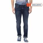 Upto 60% off+37% cashback on men's branded jeans
