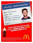 McD - Show your college Id card and get a Coke Float FREE! (Mumbai Only)
