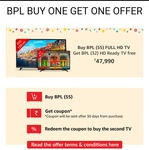 BPL TV  BUY ONE GET ONE OFFER