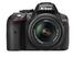 Nikon D5300 (with AF-P 18-55 mm VR Kit Lens) 24.2 MP DSLR Camera (Black) + FREE Nikon DSLR Bag + 16GB Memory Card