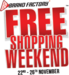 Brand Factory Free Shopping Weekend Sale : Pay Rs 2000 for order of Rs 5000.