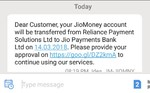 JIO MONEY CONVERTING TO JIO PAYMENT BANK