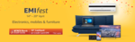 [Last Day] Amazon EMI Fest (14th-20th April) - 10% Cashback on ICICI Bank Credit Card EMI on Electronics, Mobile and Furniture