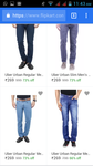 Uber Urban Regular Men's  Jeans (269+shipping)