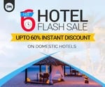Use promocode : HOTELFLASH to Get Upto 60% discount on Domestic Hotels.