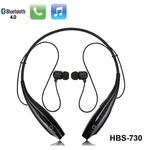 Lambent HBS-730 Neckband Bluetooth Wireless Sport Stereo Headset with Microphone for Android, Apple Devices