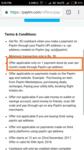 Paytm T&C changed again for upi cashback