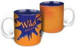 HotMuggs Love Splash - Wild About You Ceramic Mug, 350ml, Multicolour