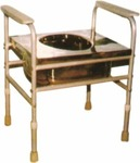 Vissco Invalid Commode with Cover - Universal
