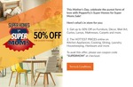 Pepperfry flat 501 off on Min purchase of 999 ( may be user specific) Suggestion added