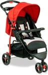 [50% off] Fisher-Price Rover Stroller Cum Pram - Red  (Multi, Red, Black)