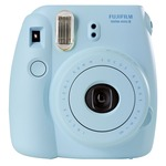 Fujifilm Instax Mini 8 Instant Point and Shoot Camera (Blue)
