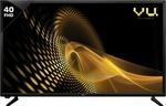 VU 102 CM (40 inch) Full HD LED TV + 10% HDFC Discount