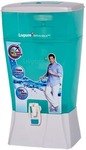 Livpure Brahma Neo 24 L Gravity Based Water Purifier  (White, Sea Green)