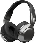 Skullcandy S6HBHY-516 Headphone  (Silver Black, Over the Ear)