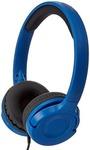 AmazonBasics On-Ear Headphones (Blue)
