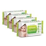 Amazon : BodyGuard Premium Paraben Free Baby Wet Wipes with Aloe Vera - 288 Wipes (Pack of 4)