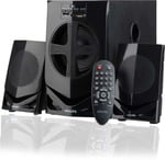 Philips MMS2030F/94 30 W Home Audio Speaker  (Black, 2.1 Channel)