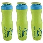 Premsons Plastics Gym big 740ml Sports Water Bottle Set Of 3
