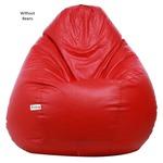 [Lowest] Sattva XXXL Bean Bag (Red)