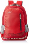 Skybags Red Laptop Backpack (LPBPVI3ERED)